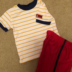 Toddler Boy Mickey Shorts Set